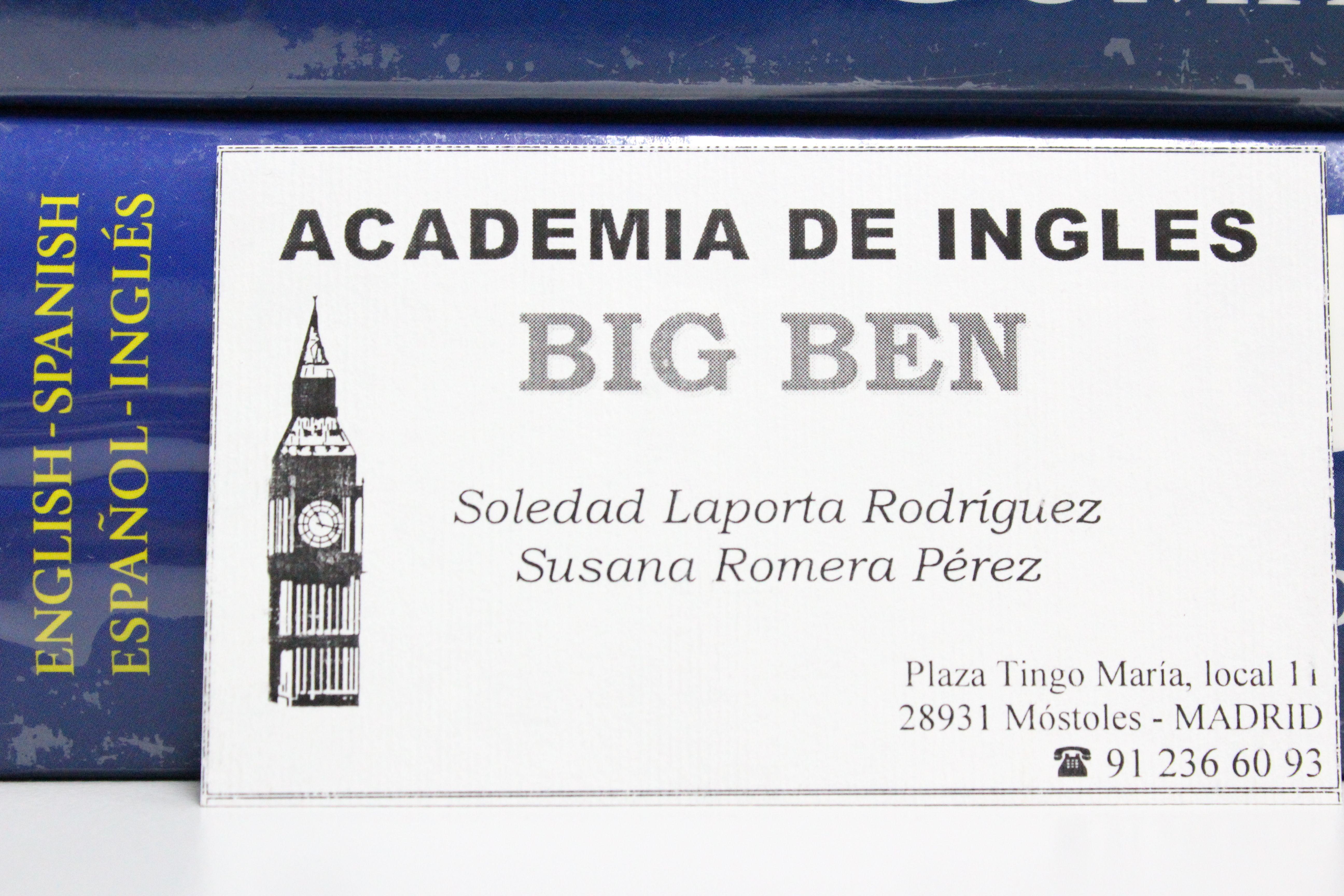 Foto 4 de Academias de idiomas en Móstoles | Academia Big Ben