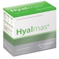 Complemento alimenticio con ácido hialurónico