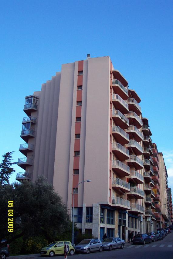 Fachada Edificio Giravolt en Figueres