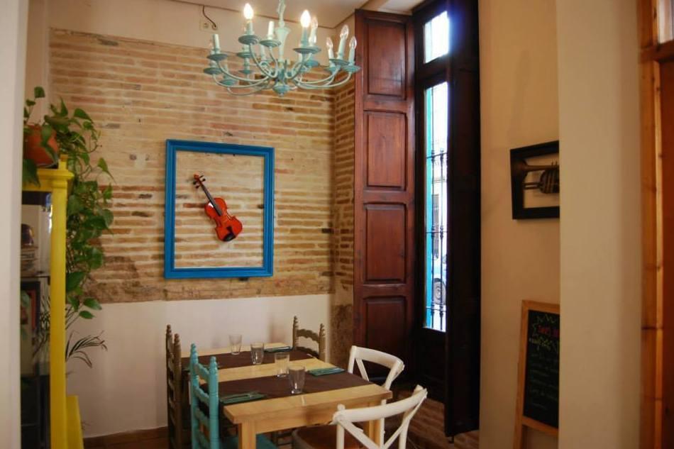 Restaurantes vegetarianos en Valencia Capital
