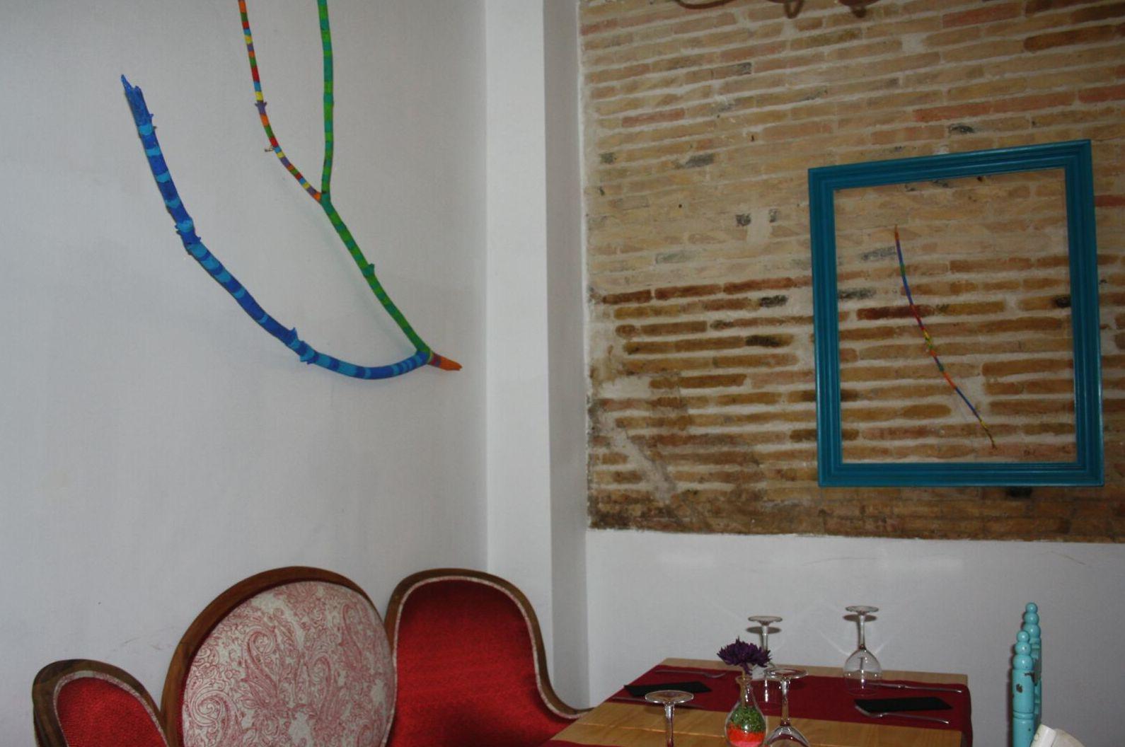 Un restaurante diferente en Valencia