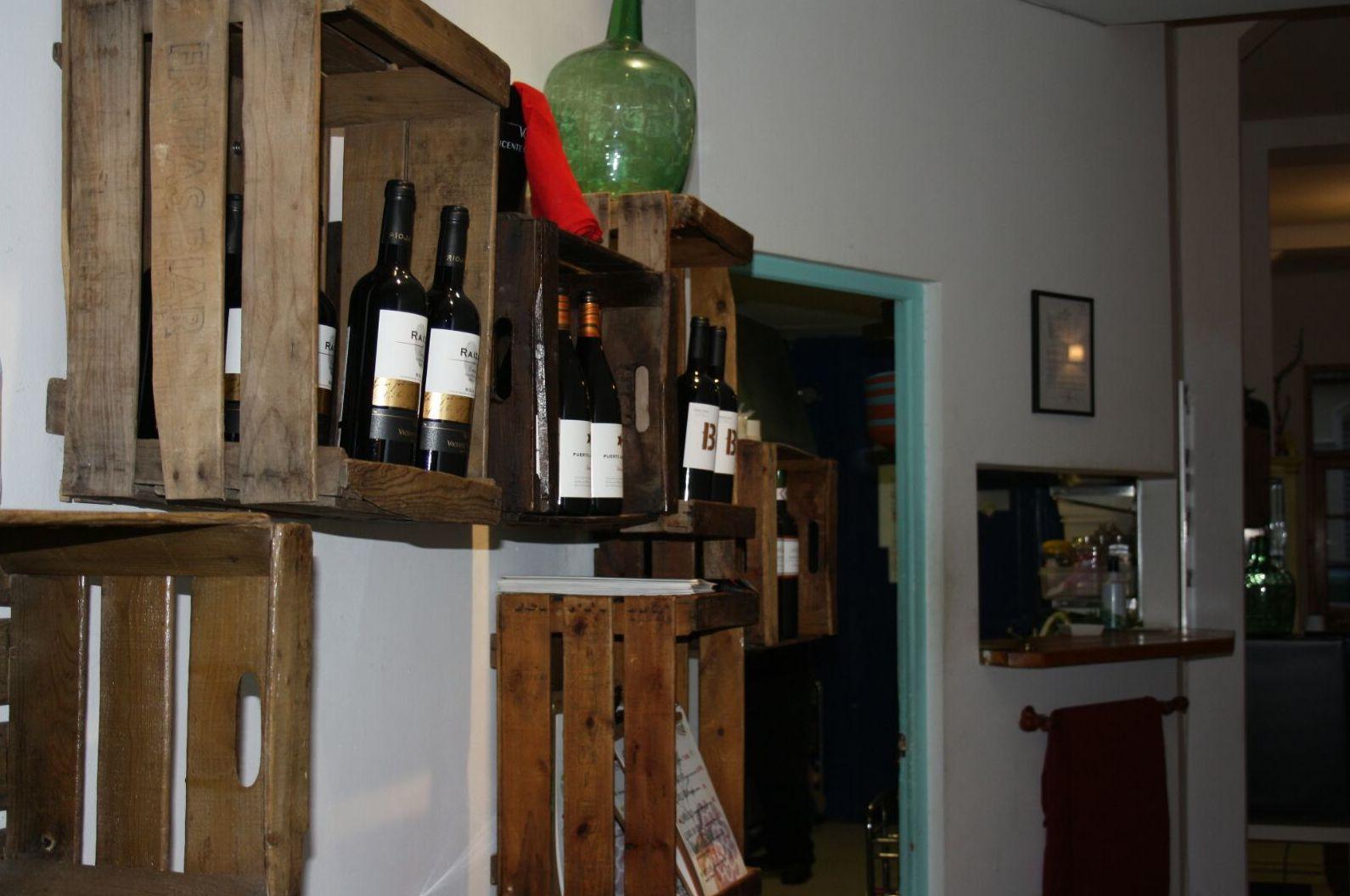 Carta de vinos seleccionados
