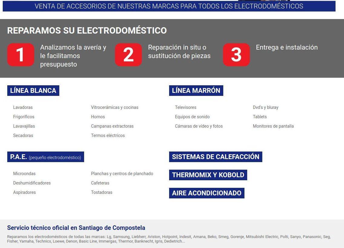 Reparación de electrodomésticos: Servicios de Víctor SAT
