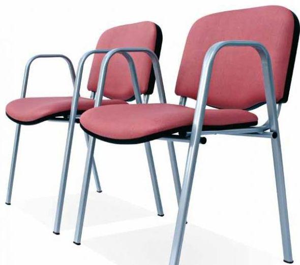 sillón fijo con brazos económico y tapizado a elegir.