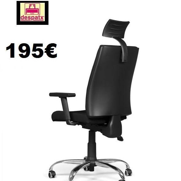 silla ergonómica con cabezal, modelo I-Line