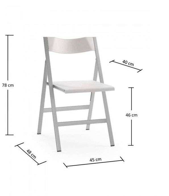 silla plegable modelo PISA: Catálogo de productos de Despatx