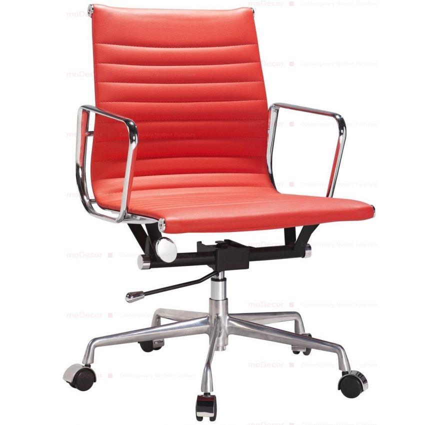 silla eames-2 roja