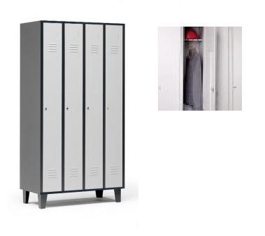 taquilla de 4 puertas en bicolor gris: Catálogo de productos de Despatx