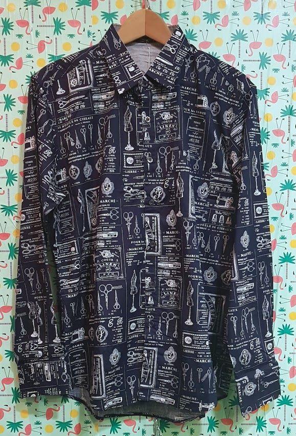 Camisa azul estampada: Productos de Picnic Moda Urban y Pinpilinpauxa