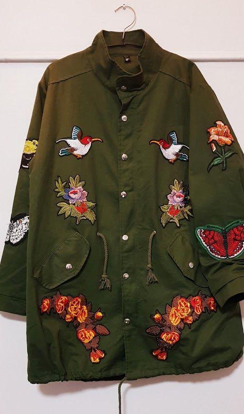 Green parka jacket: Productos de Picnic Moda Urban y Pinpilinpauxa
