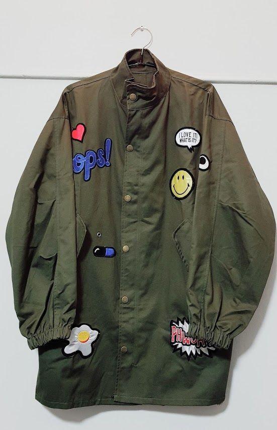 Jacket verde: Productos de Picnic Moda Urban y Pinpilinpauxa
