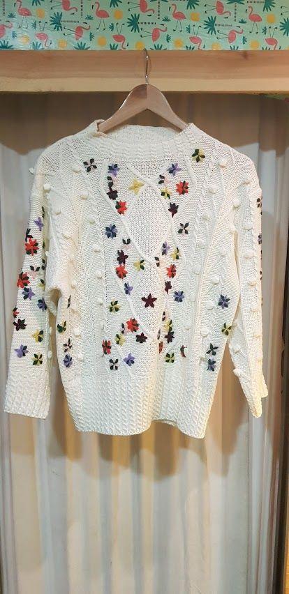 Jersey con motivos florales: Productos de Picnic Moda Urban y Pinpilinpauxa