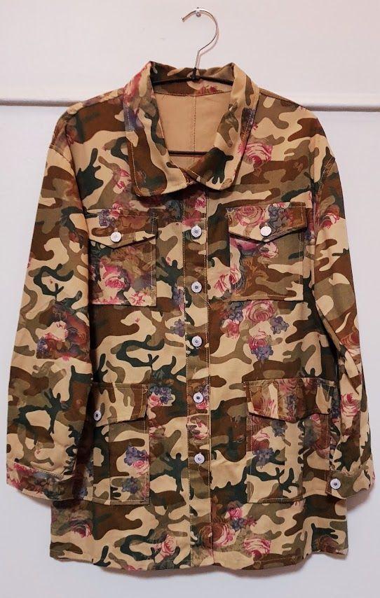 Chaqueta militar camuflaje estampada: Productos de Picnic Moda Urban y Pinpilinpauxa