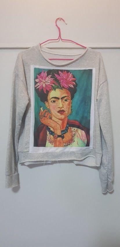 Sudadera estampado Frida Kalho: Productos de Picnic Moda Urban y Pinpilinpauxa