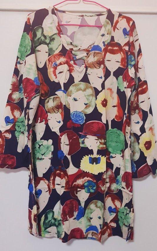 Vestido con caras de mujer: Productos de Picnic Moda Urban y Pinpilinpauxa