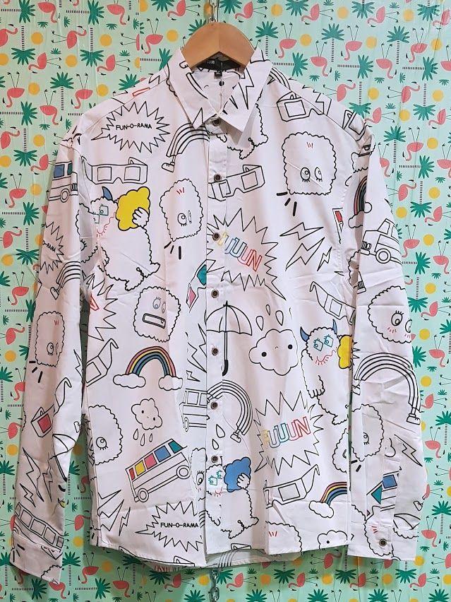 Camisa blanca con dibujos: Productos de Picnic Moda Urban y Pinpilinpauxa