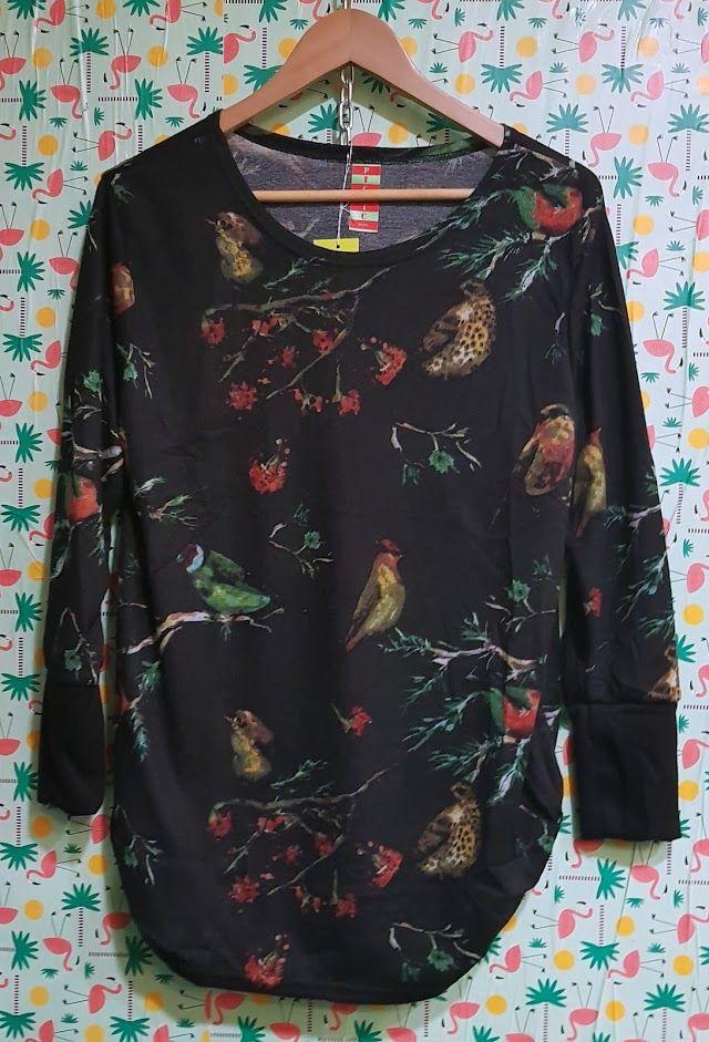 Blusa estampada de pájaros: Productos de Picnic Moda Urban