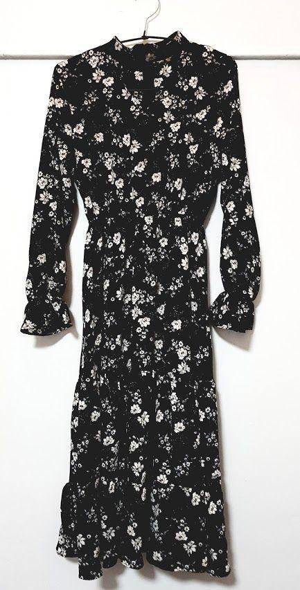 Vestido de micro flores negro: Productos de Picnic Moda Urban y Pinpilinpauxa