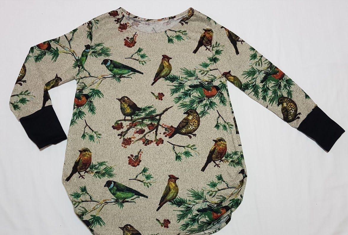 Camiseta de pájaros tonos claros: Productos de Picnic Moda Urban