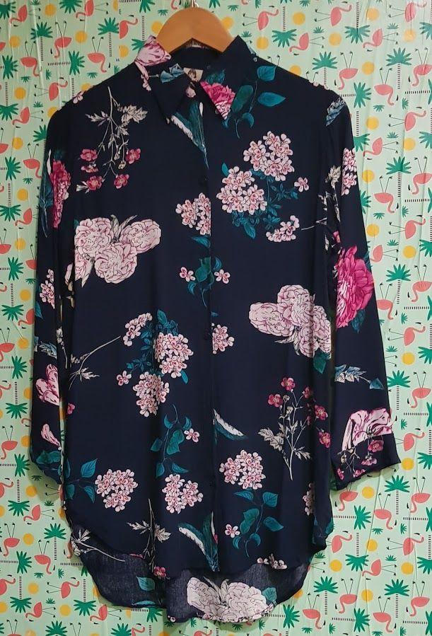 Camisa de flores azul: Productos de Picnic Moda Urban y Pinpilinpauxa