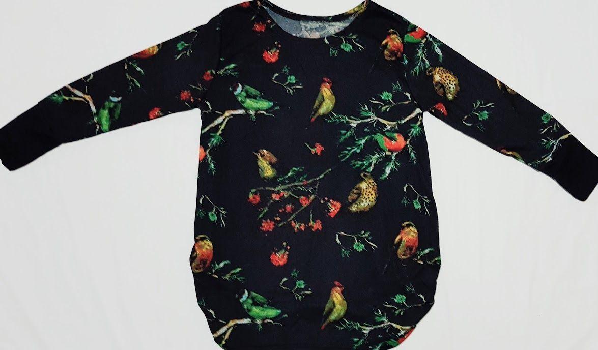 Camiseta de pájaros negra: Productos de Picnic Moda Urban y Pinpilinpauxa