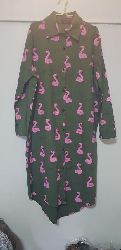 Vestido  flamingo verde: Productos de Picnic Moda Urban