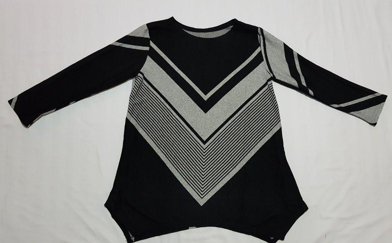 Camiseta estampada asimétrica negra: Productos de Picnic Moda Urban y Pinpilinpauxa