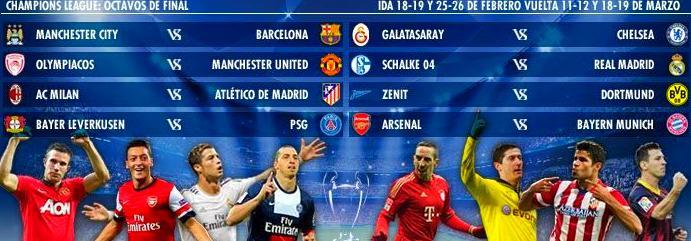 Jornada de liga de la Champions