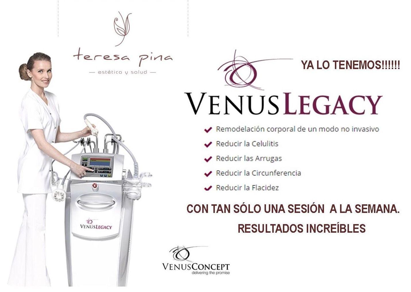 VENUS LEGACY: Servicios de Centro Teresa Pina
