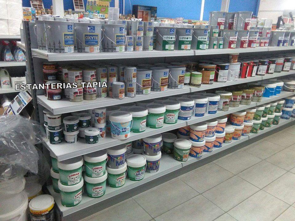 Estantes para tiendas de pinturas