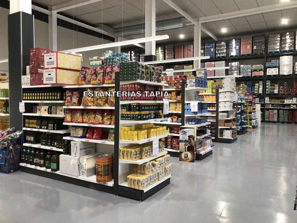 Estanterías para supermercados