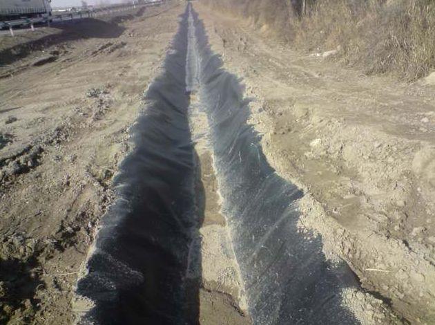 Impermeabilización de canales y balsas