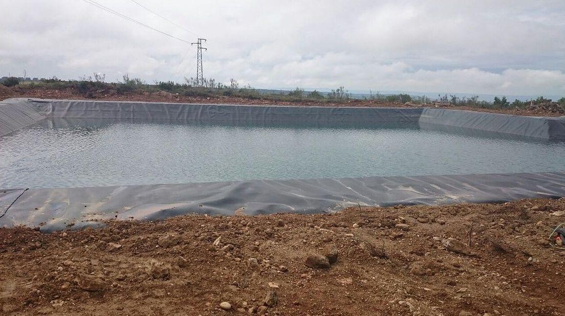 Impermeabilización de balsas en Navarra