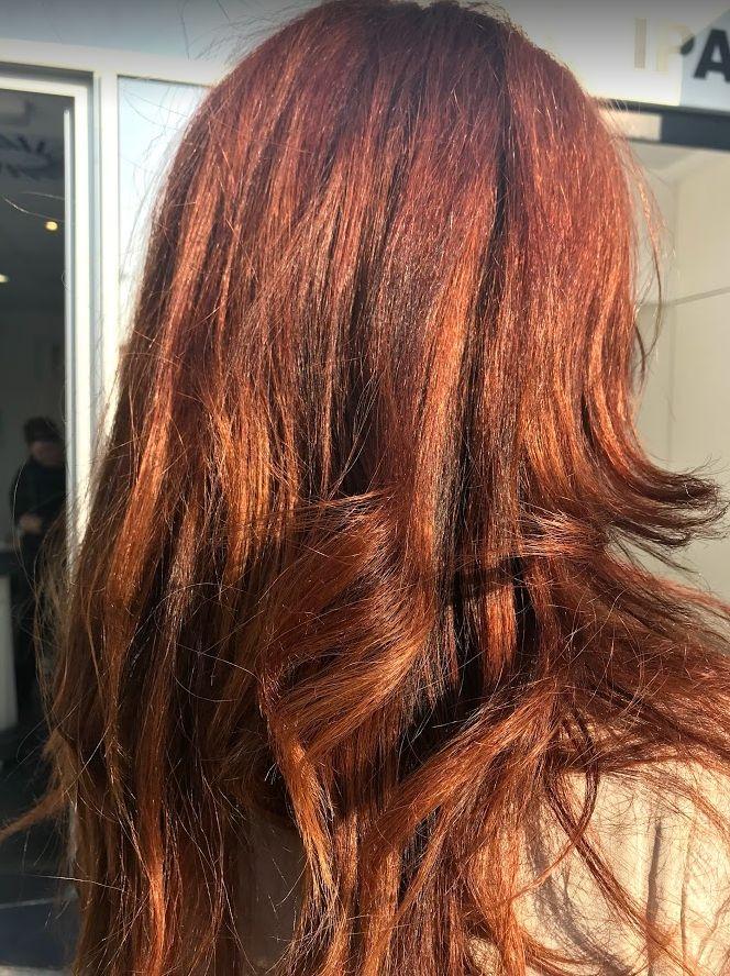 Tratamiento de color para el cabello