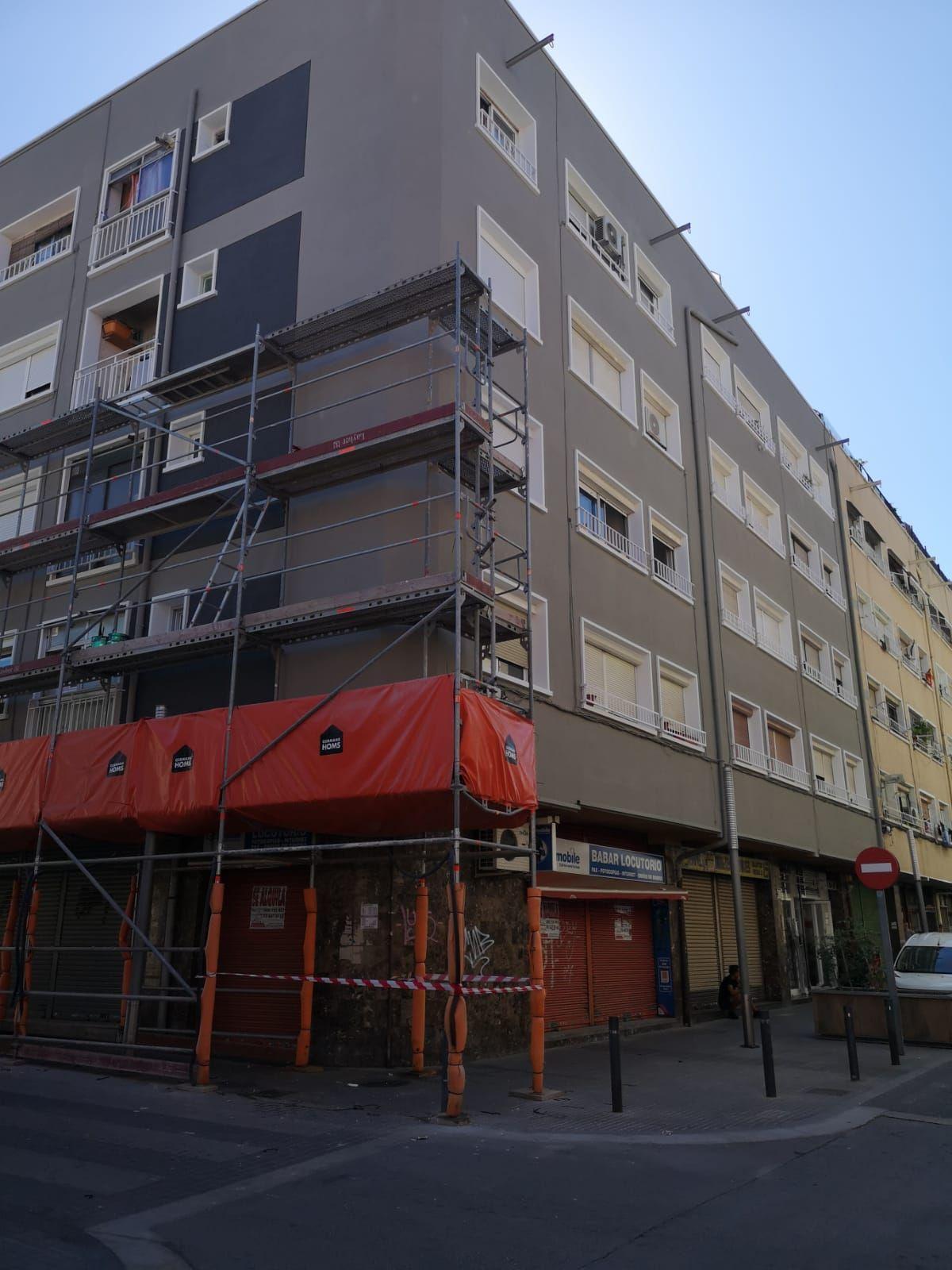 Trabajos verticales en Mollet del Vallès