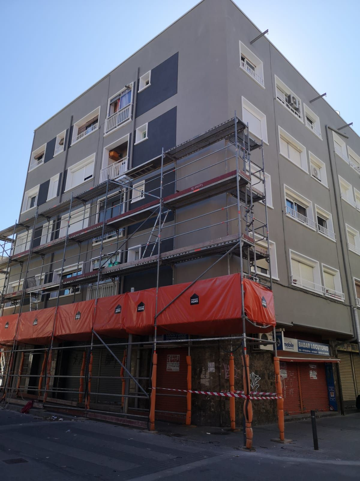 Reforma de fachadas en Mollet del Valès