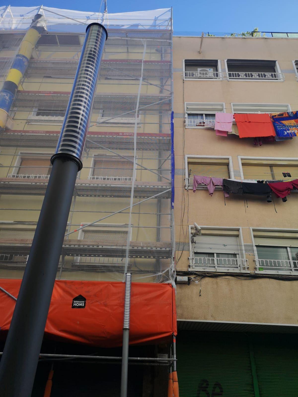 Reforma de fachadas en Mollet del Vallès