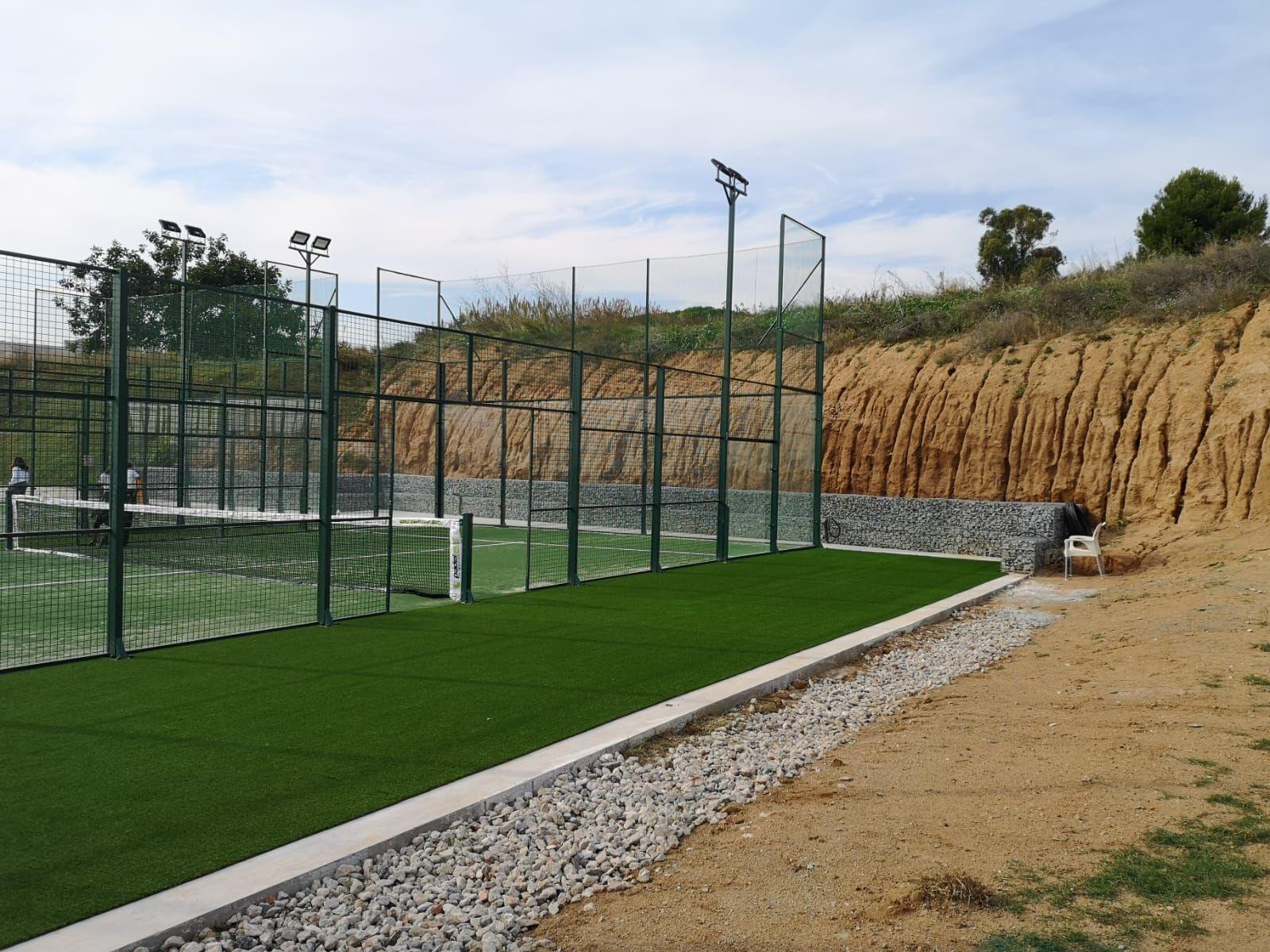 Mantenimiento de instalaciones deportivas en Mollet del Vallés