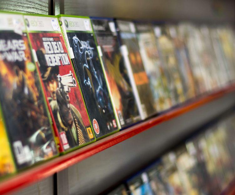 Amplia oferta de videojuegos