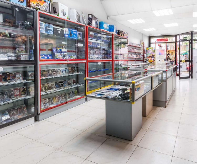 Tienda de videojuegos de segunda mano en Palma de Mallorca