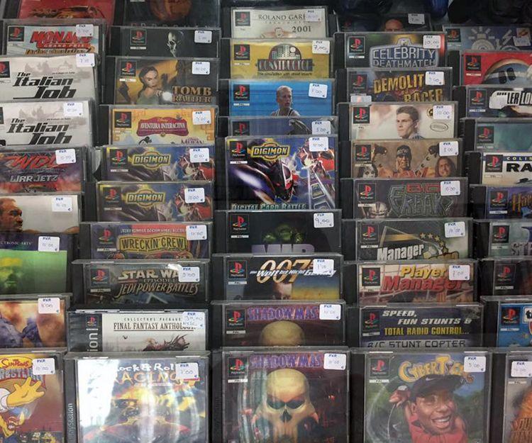 Venta de juegos de la mítica Playstation