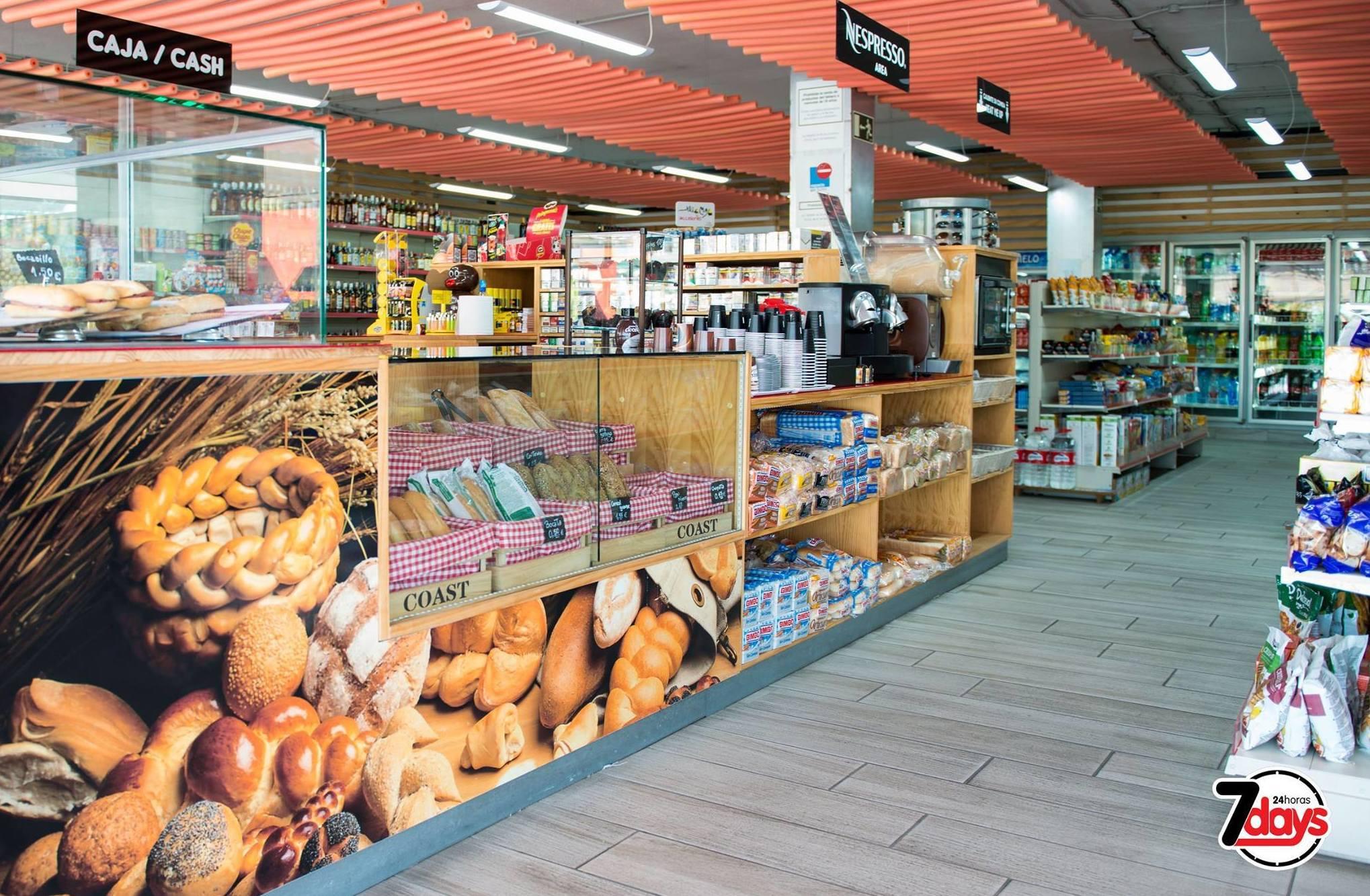 Venta de productos de alimentación
