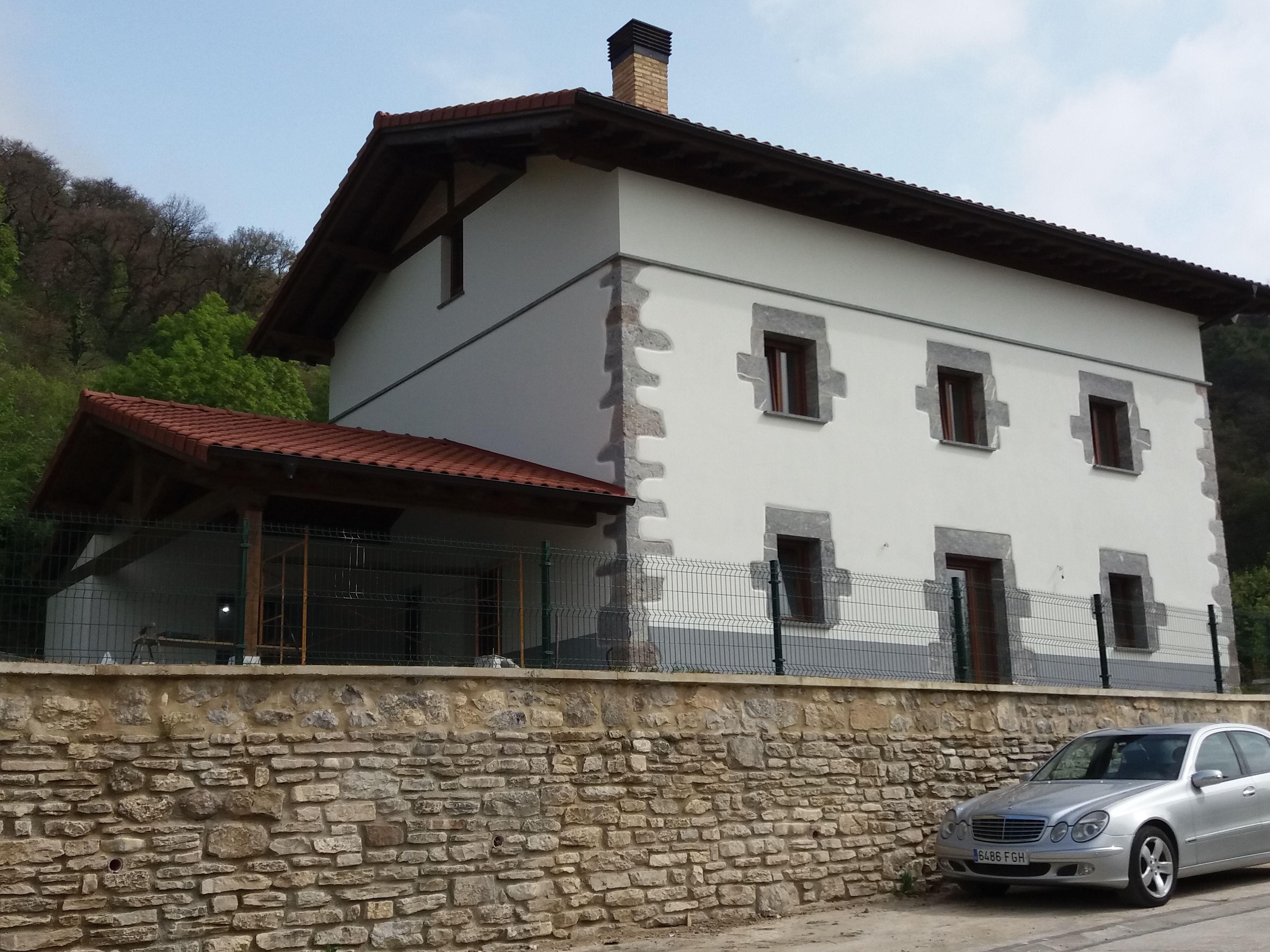 Rehabilitacion de fachadas Lekunberri