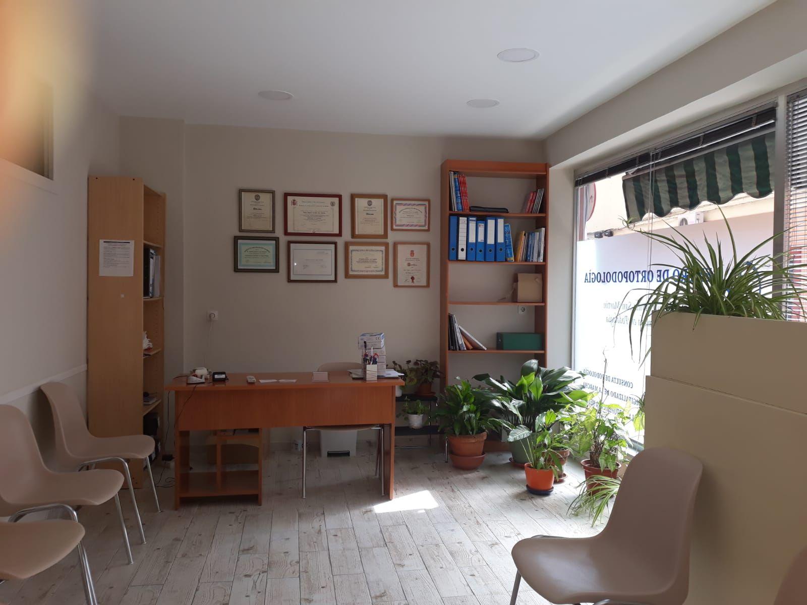 Plantillas ortopédicas en clínica podológica en Madrid sur