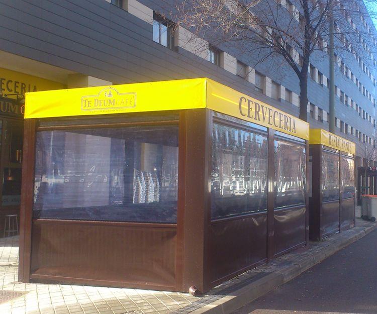 Instalación de cerramiento hostelería en Griñón, Madrid