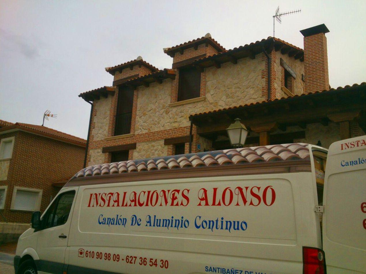 Foto 40 de Canalones en Santibáñez de Valcorba | Instalaciones Alonso