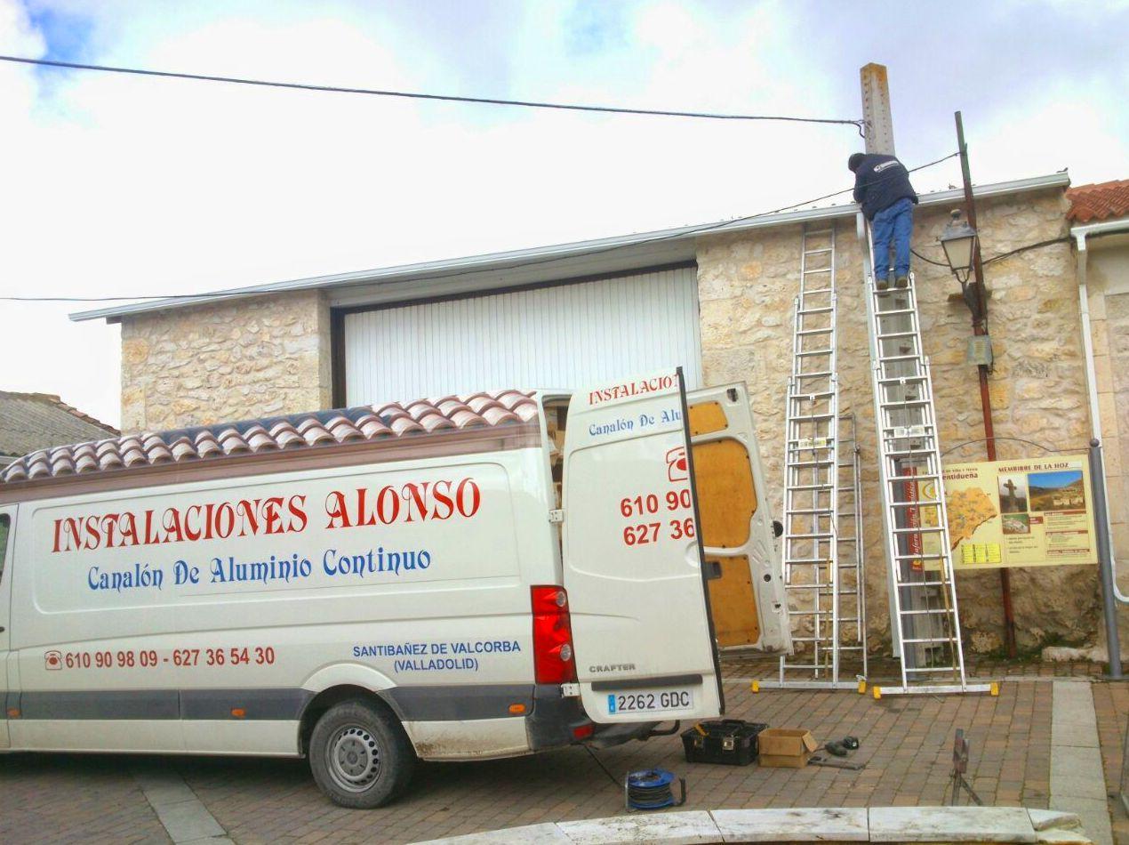 Foto 36 de Canalones en Santibáñez de Valcorba | Instalaciones Alonso