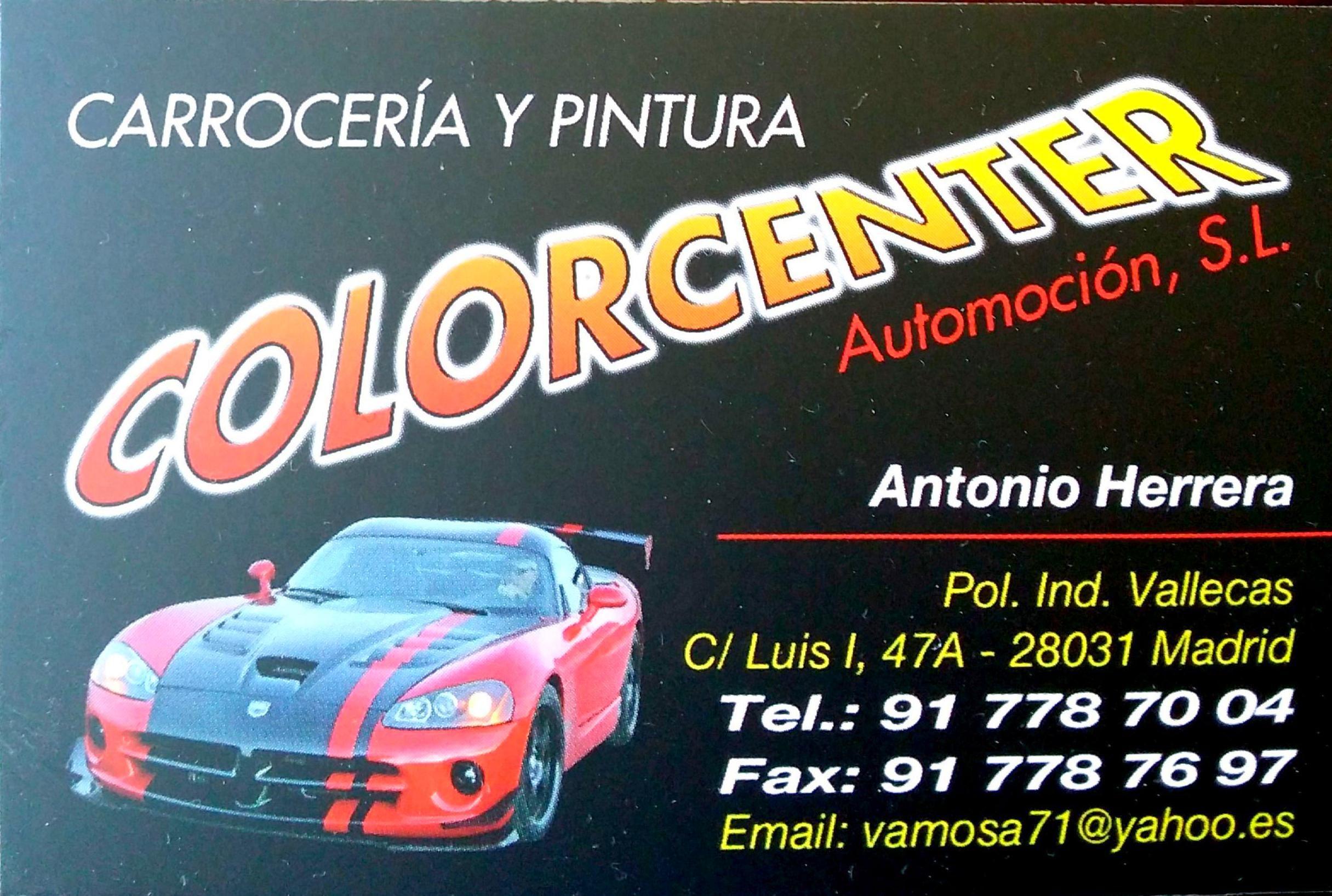 Taller De Chapa Y Pintura En Ensanche De Vallecas Colorcenter
