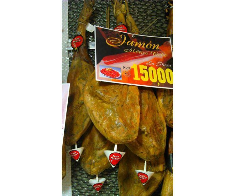 Jamón ibérico de cebo en Leganés