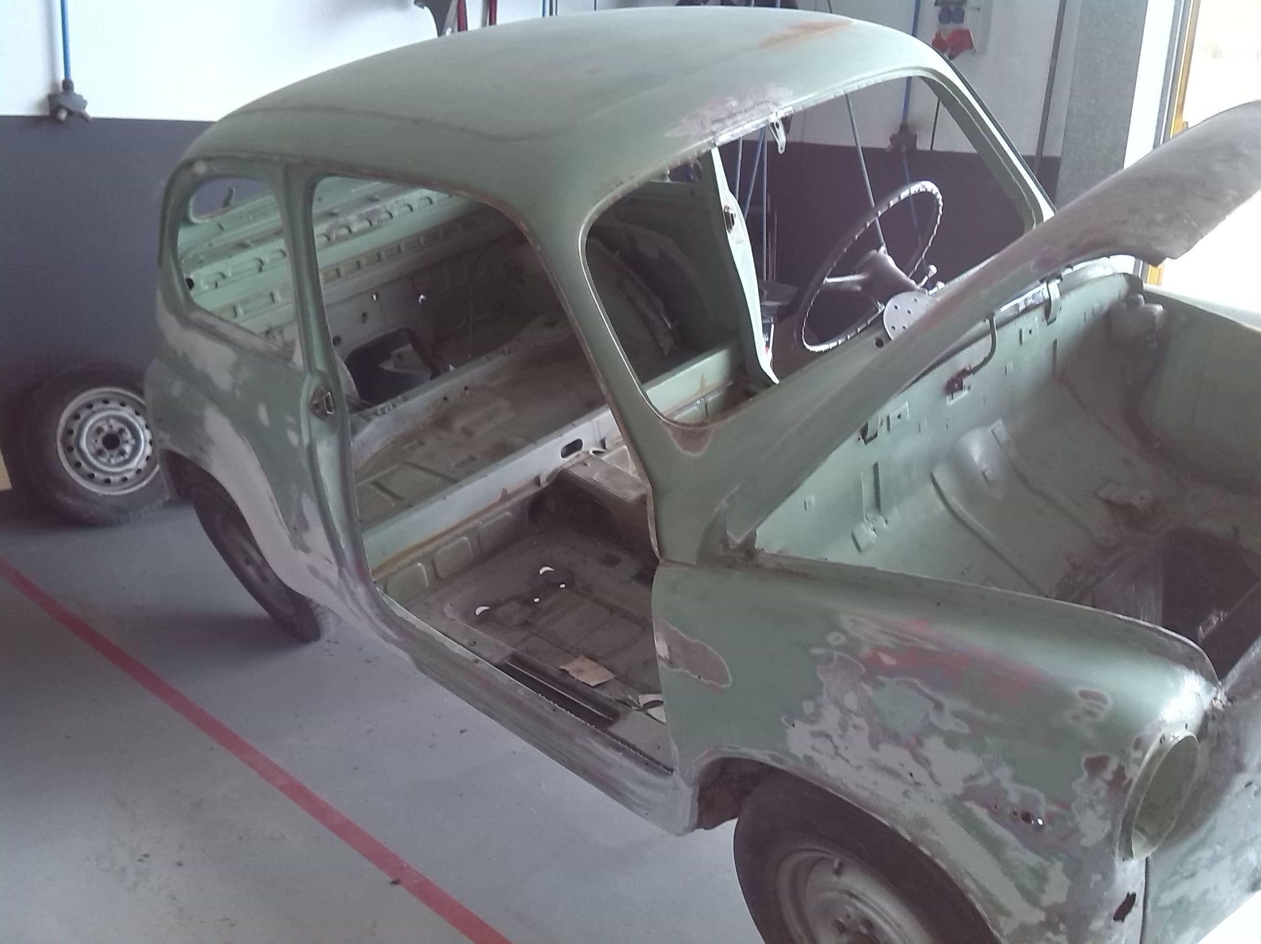 Restauración 600 y cambio de color